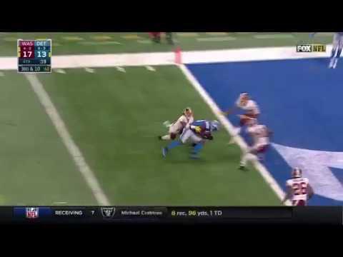 Lions vs Redskins | Stafford finds Bolden game winning touchdown