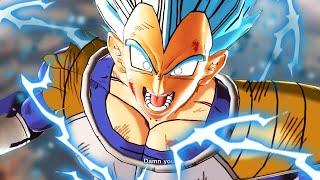 Super Saiyan Blue Vegeta Transforms | GREAT APE GOD [Episode 75]
