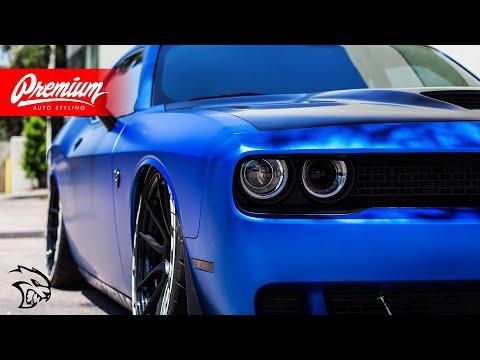 FIXING Bagged Dodge HELLCAT Vinyl Wrap!! Premium Auto Styling