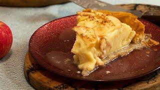 Greek Custard Pie with Apples: Apple Galaktoboureko