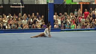 Simone Biles - Floor Exercise - 2019 Women's Worlds Team Selection Camp