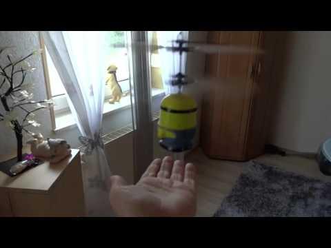 Детски дрон тип миньон играчка със сензор за препятствия 3.7V 120 mAh 9