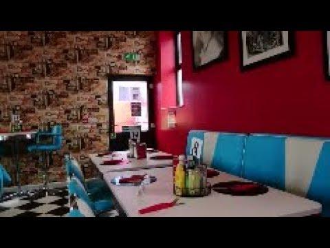 Tarka Diner: American 1950s Retro Diner, Bideford, North Devon, UK