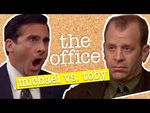 Michael vs Toby  - The Office US