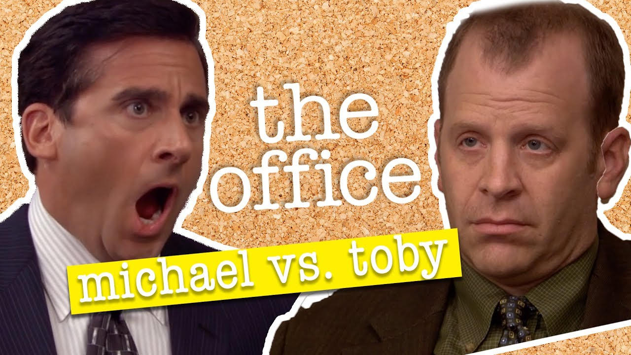the office photos. michael vs toby the office us photos