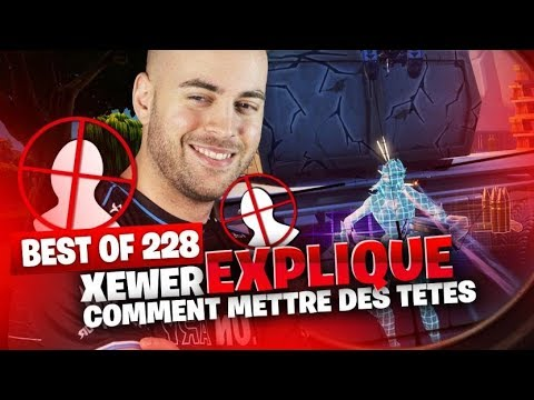 BEST OF SOLARY FORTNITE #228 ► XEWER EXPLIQUE COMMENT METTRE DES TETE SUR FORTNITE