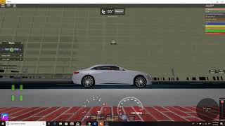 Mercedez Benz Stunts 271MPH| Roblox Miami,Florida