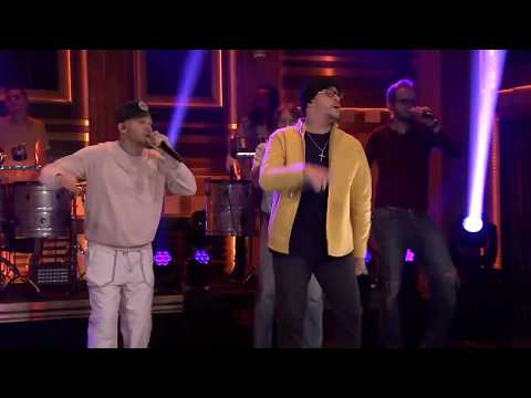 Karaoke Bien Bellacoso Residente Y Bad Bunny Version En Vivo Show Jimmy Fallon