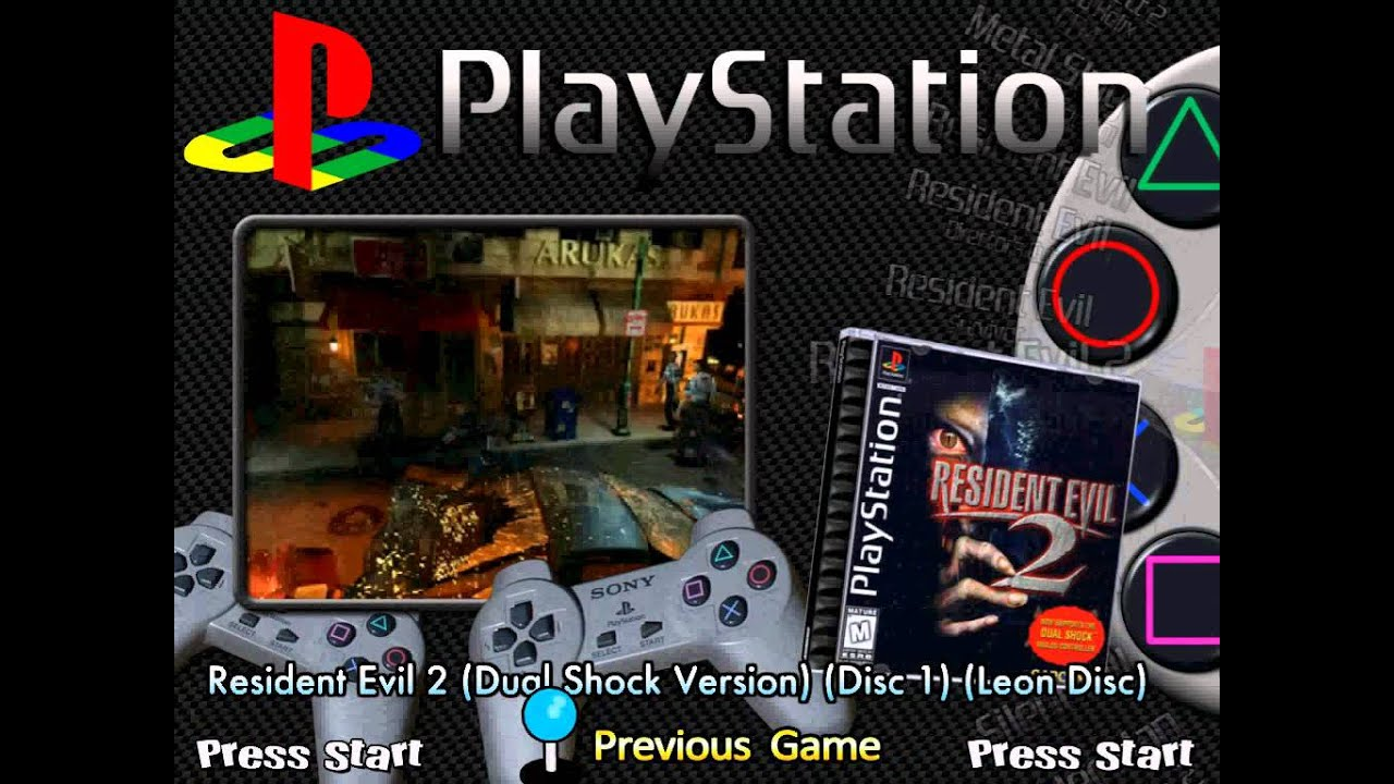 HyperSpin Sony PlayStation media download