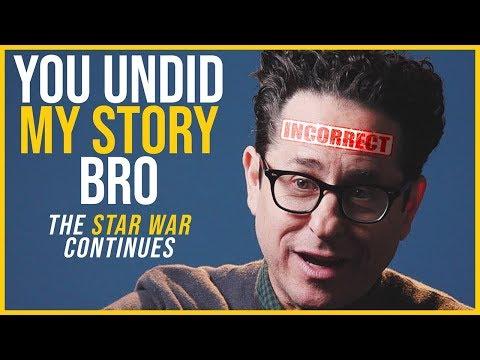Did Rian Johnson UNDO JJ's Star Wars Trilogy?