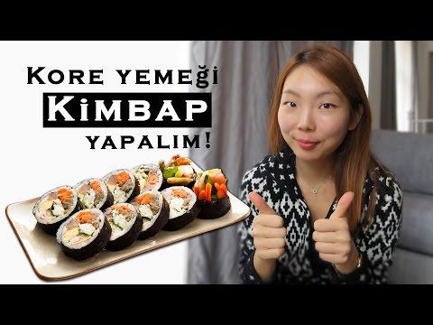 Kore yemeği #2 - Kimbap yapalım!