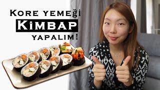 Kore yemeği #2 Kimbap yapalım!