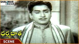 Dharma Daata Movie || ANR Planning To Build Houses For People || ANR, Kanchana || Shalimarcinema
