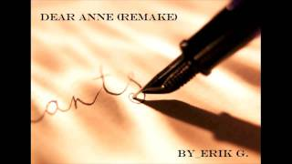 Lil Wayne - Dear Anne (Remake) Instrumental Produced by Erik G.