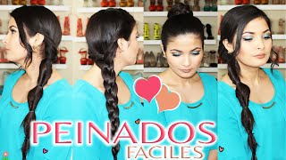 Peinados Faciles, Rapidos y Bonitos Para Cabello Largo (Colaboracion)