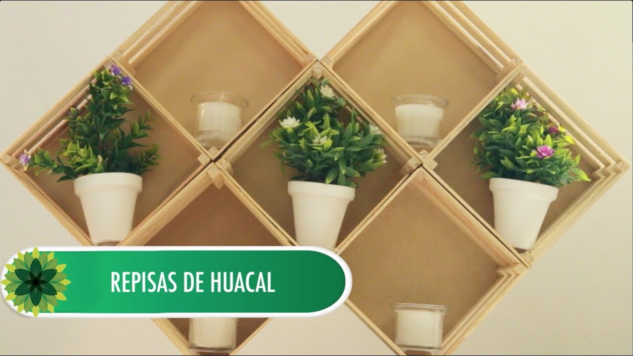 Depend tutorial repisas de huacal youtube for Repisas para bano en home depot