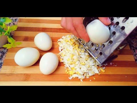 oeufs-râpés-/-recette-pour-dîner-déjeuner-facile-et-rapide---cuisine-marocaine