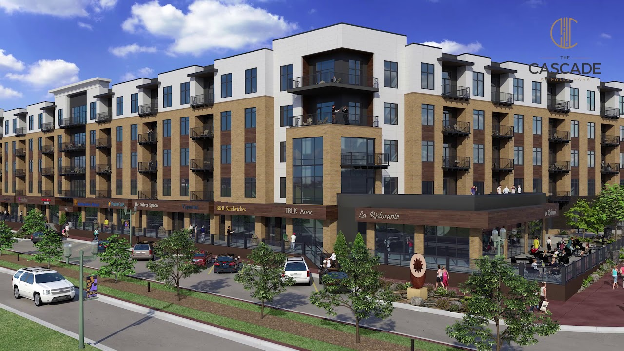 The Cascade Restaurants Retail Luxury Apartments In Downtown Sioux Falls