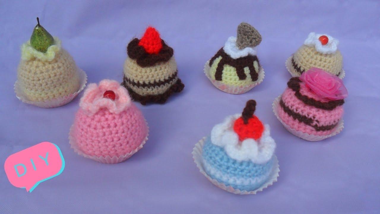 Amigurumi Dolcetti Tutorial Idee Bomboniere Cake Crochet Youtube