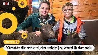 Dieren zorgen voor meer rust en zelfvertrouwen bij kinderen