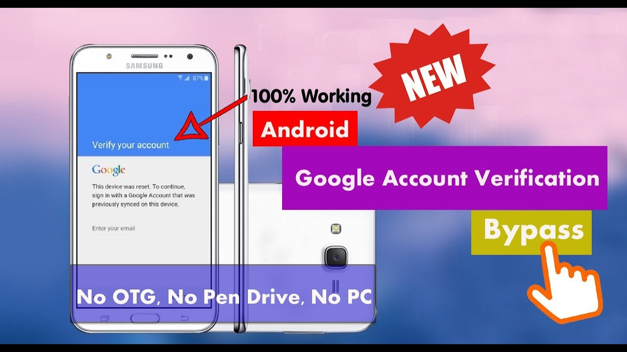 Bypass Google Account Verification 2018 [All Phone - NO PC/OTG/Pen Drive]