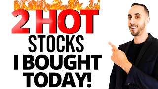 Two Hot Stocks That I Bought Today For The Market Rally (Will The Market Head Higher?)
