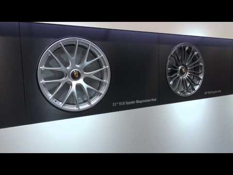Porsche 918 Spyder, What Wheels To Choose? 21' Magnesium Or Two Others?