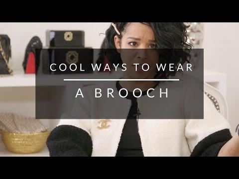 Cool Ways to Wear A Brooch