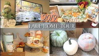 FALL DECOR HOME TOUR 2019