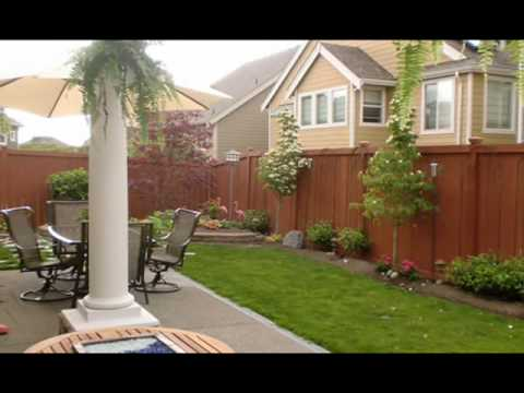 Backyard Before And After backyard - before & after - youtube