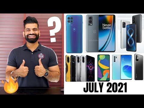 Top Upcoming Smartphones - July 2021🔥🔥🔥