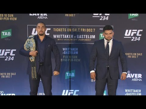 UFC 234: Robert Whittaker - This Will Be My Toughest Fight