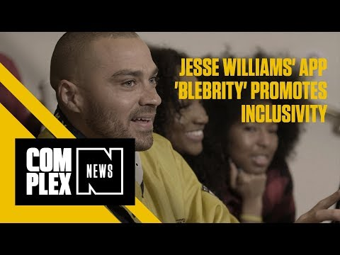 Jesse Williams' App 'BLeBRiTY' Promotes Inclusivity - YouTube