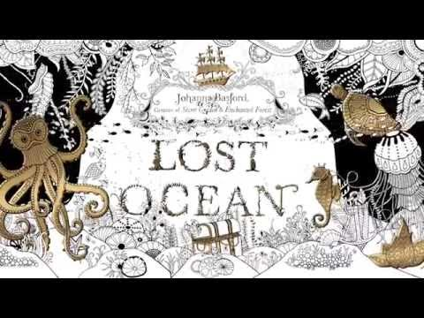 Lost Ocean An Inky Adventure Coloring Book Coral And Caves