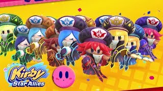 UNBELIEVABLY EASY way to beat Soul Melter EX with 4 Three Mage-Sisters | Kirby Star Allies ᴴᴰ (2018)