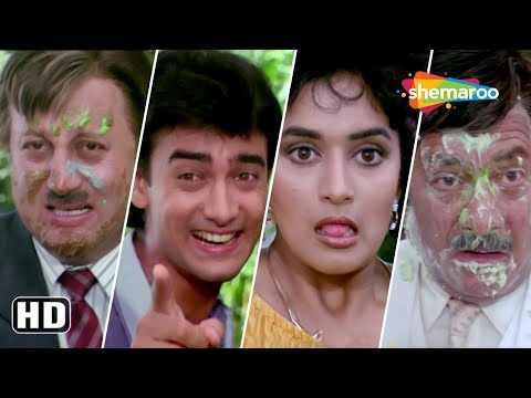 Aamir Khan & Madhuri Dixit rejects each other - Dil Scene - Funny fight scene - Comedy Movie