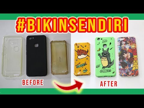 Mudahnya Bikin Casing HP sendiri !!!  –  (DIY  Custome Phone Case Handmade By Asanamah Studio)