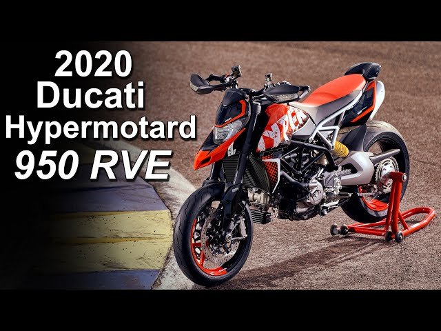 2020 Ducati Hypermotard 950 RVE Special Edition - Overview