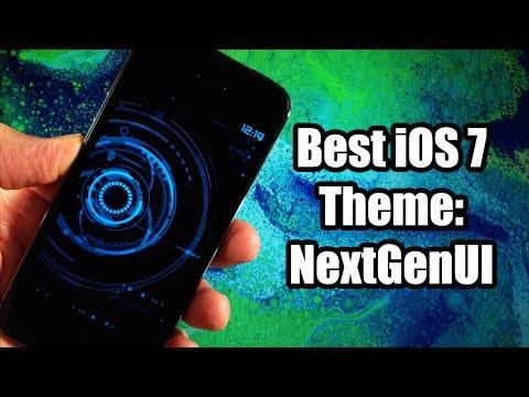 Best iOS 7 Theme - NextGenUI