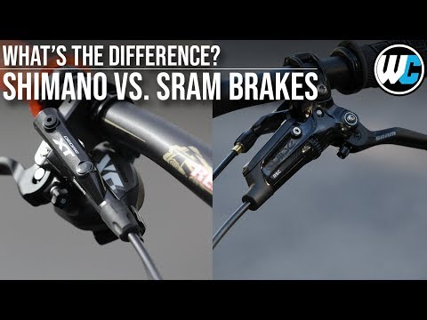 Mountain Bike Disc Brakes   SRAM vs. Shimano - Which is Best?