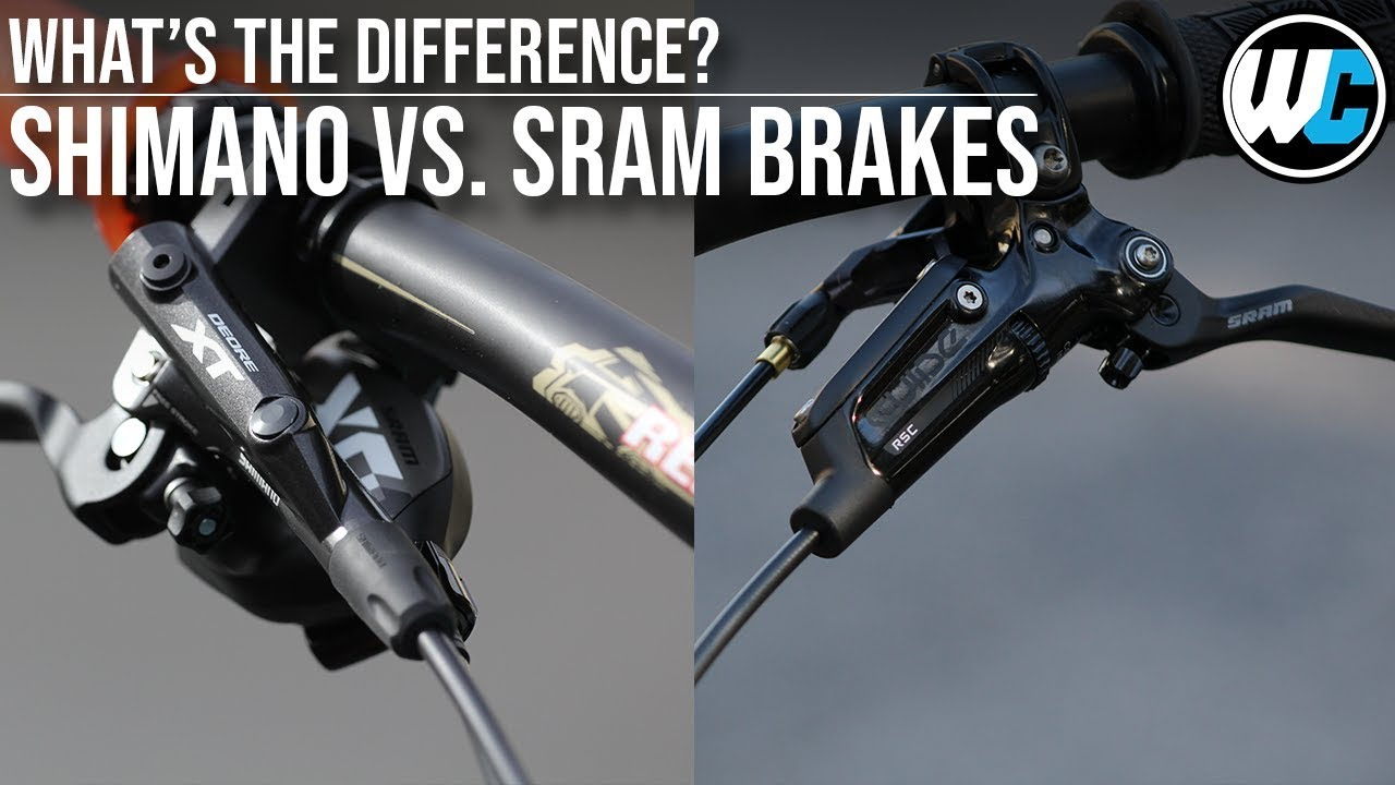 Mountain Bike Disc Brakes | SRAM vs. Shimano - Which is ...