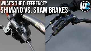 Mountain Bike Disc Brakes | SRAM vs. Shimano - Which is Best?