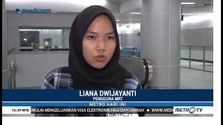 Kesan Memuaskan Penumpang MRT Jakarta