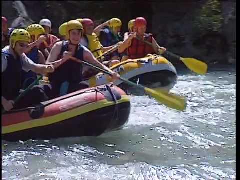 Raft dans les Alpes de Haute-Provence