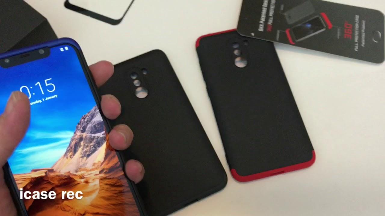 quality design 57ce4 ad9a3 Best Case Armor Xiaomi Pocophone F1 360 Super Protect