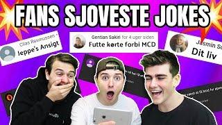 JERES SJOVESTE JOKES!! m. Jeppe Ølgaard
