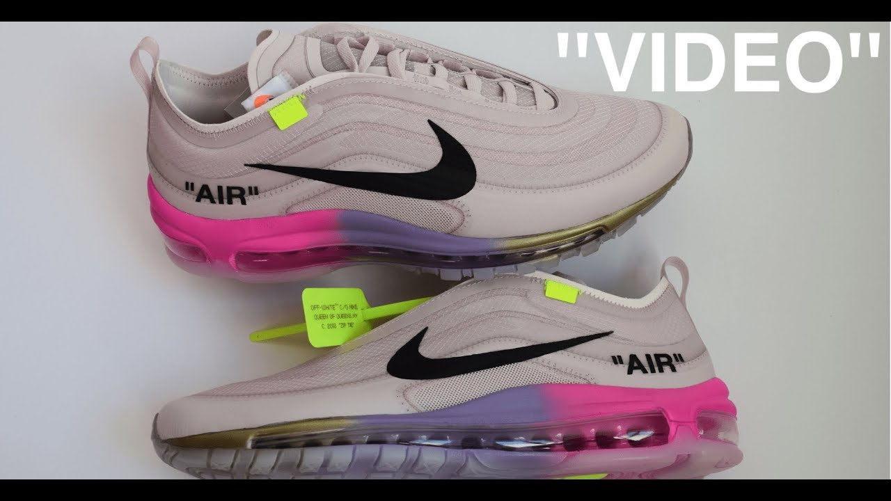 UNBOXING   NIKE AIR MAX 97 OFF WHITE VIRGIL ABLOH x SERENA WILLIAMS ... 5f317ba9f