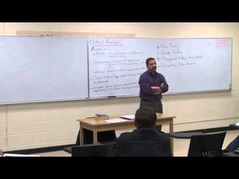 Qualitative Research Methods-Critical Analysis
