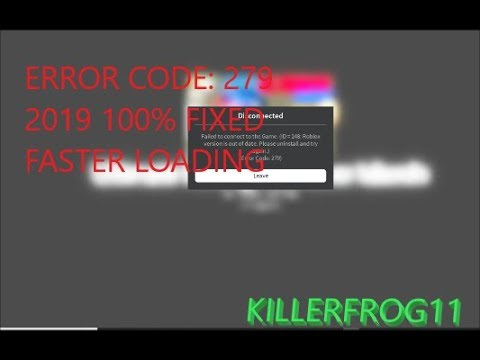 How To Fix Roblox Error Code 279 Id 148 Roblox Error 279 100 Fixed 2019 Id 148 Most Likely Fixes Others Windows 10 Youtube