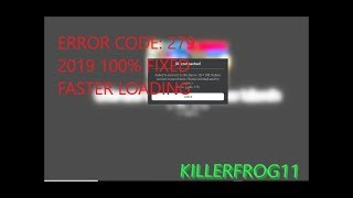 Roblox Error 279 (100% FIXED 2019) ID = 148 (Most Likely Fixes Others!) Windows 10